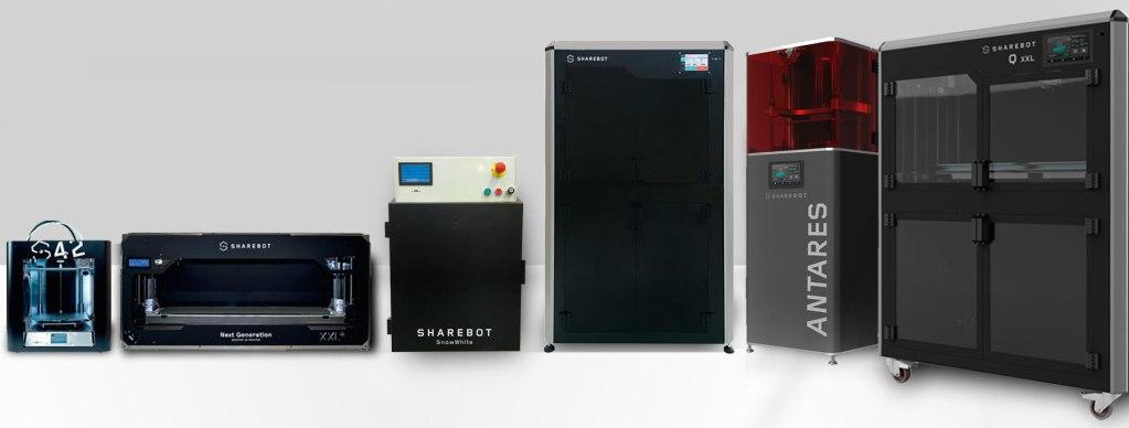 vendita stampanti 3d sharebot monza