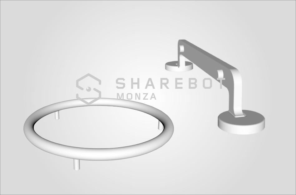 prototipazione maniglie citterio giulio sharebot monza stampa 3d