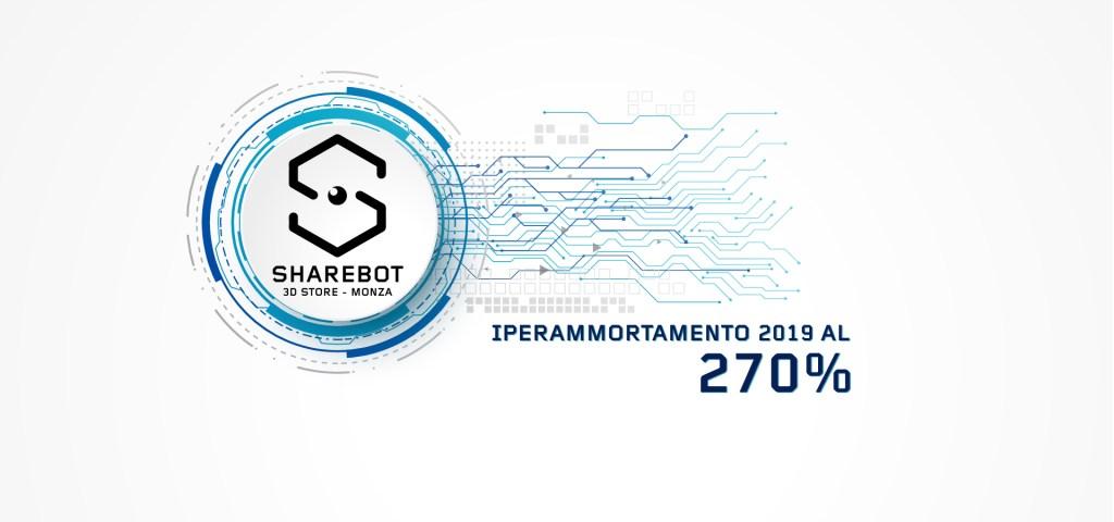 iperammortamento 2019 sharebot monza