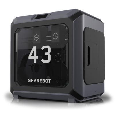 sharebot 43 stampante 3d doppio estrusore 3d store monza