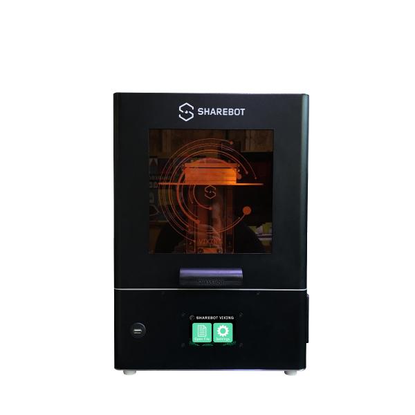 stampanti 3d resina sharebot viking 3d store monza