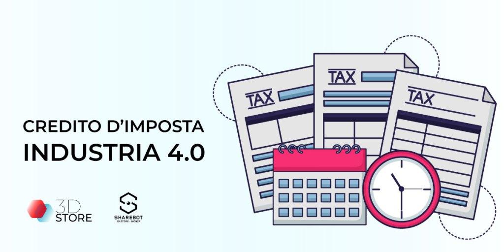 credito imposta 2020 iperammortamento stampa 3d sharebot 43 3d store monza