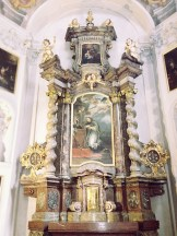 Altar in chapel of St. John of Nepomuk