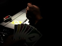 uno on the plane