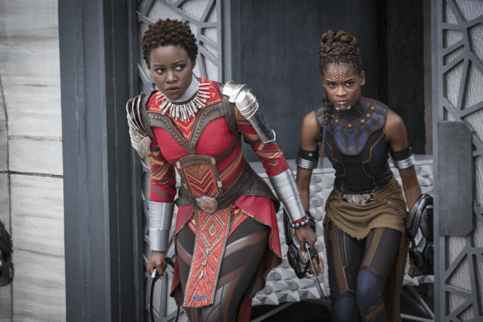 Black Panther Lupita Nyong'o Letitia Wright
