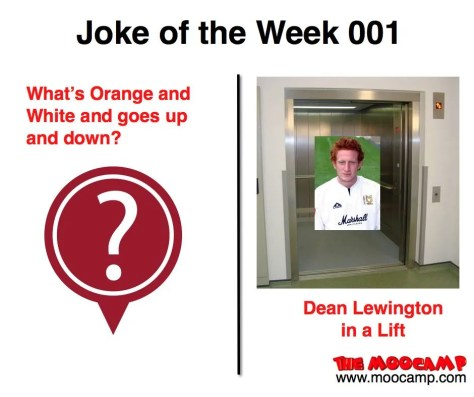 The MooCamp Radio Show - Joke of the Week 001