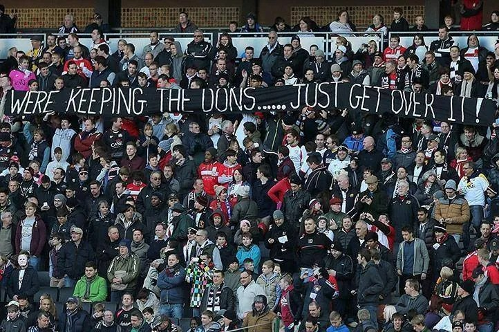 We're Keeping The Dons