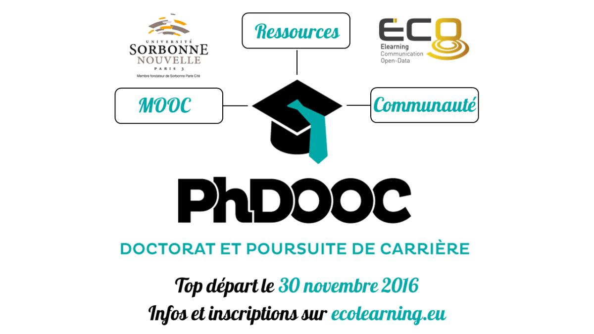 Phdooc le MOOC des doctorants