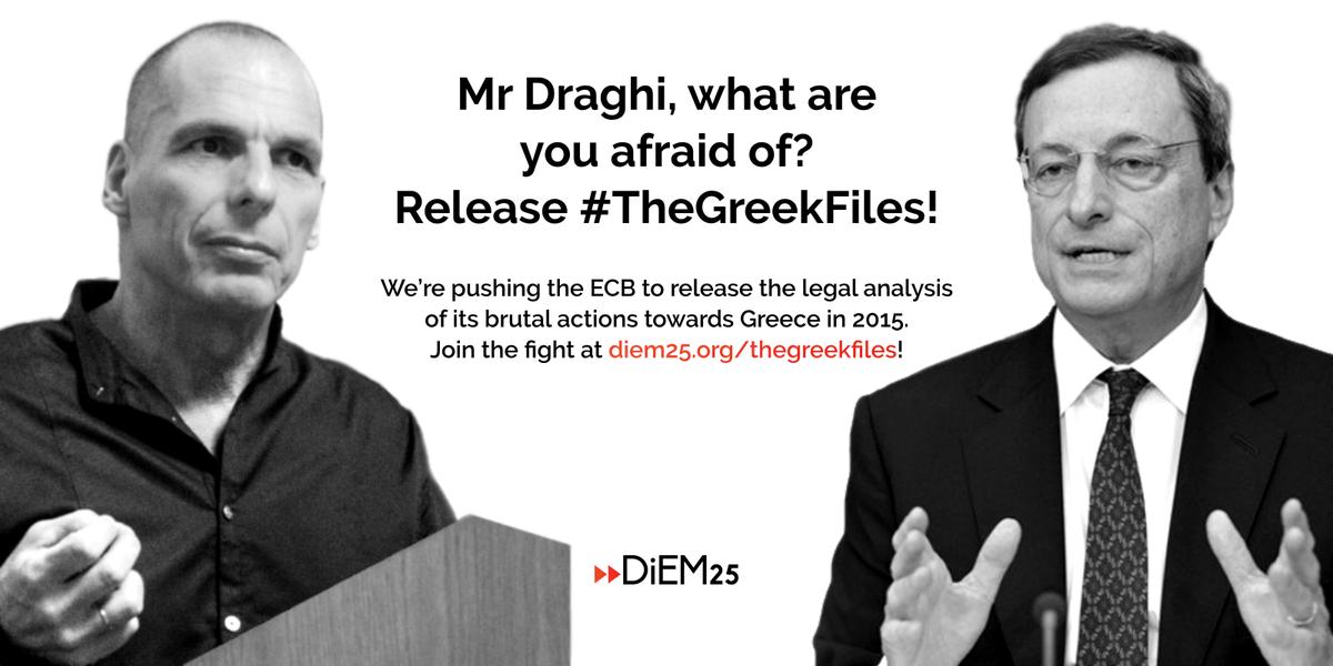 Campaign: #TheGreekFiles