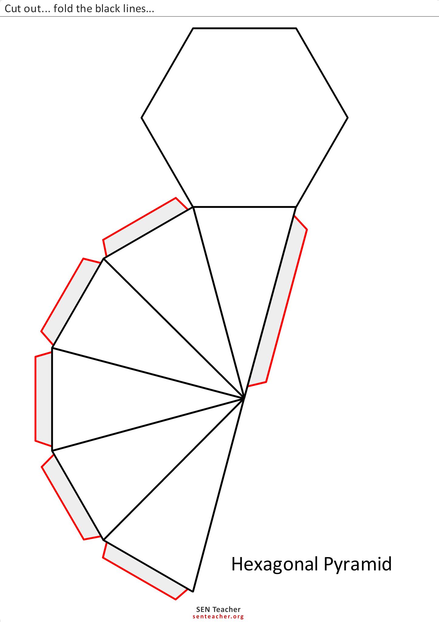 Geo Luriemst Net Hexagonal Pyramid