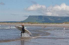 Strandhill: sea, sand, seagulls and surfers!