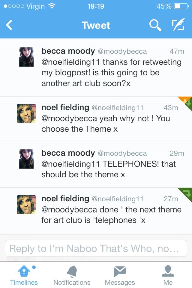 NOEL'S ART CLUB!