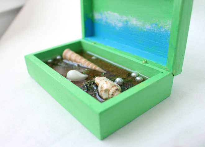 Element of Water in a Box
