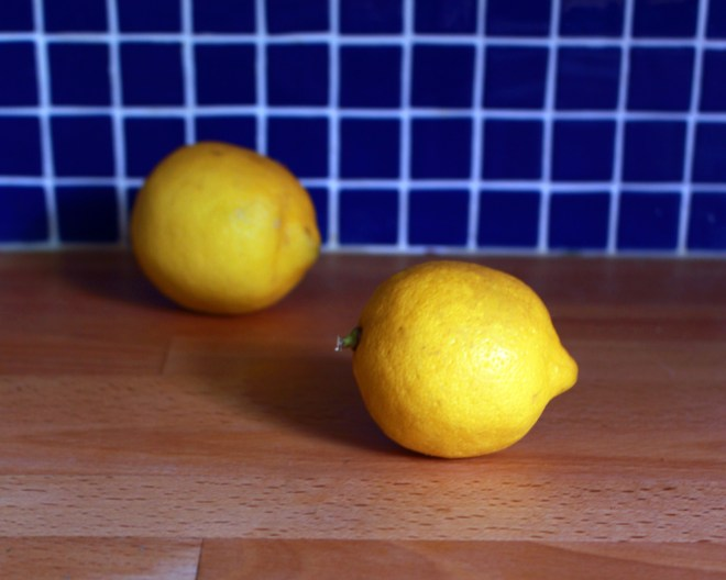 Kitchen Witch Spell with Lemons