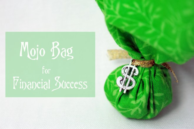 mojo bag for financial success