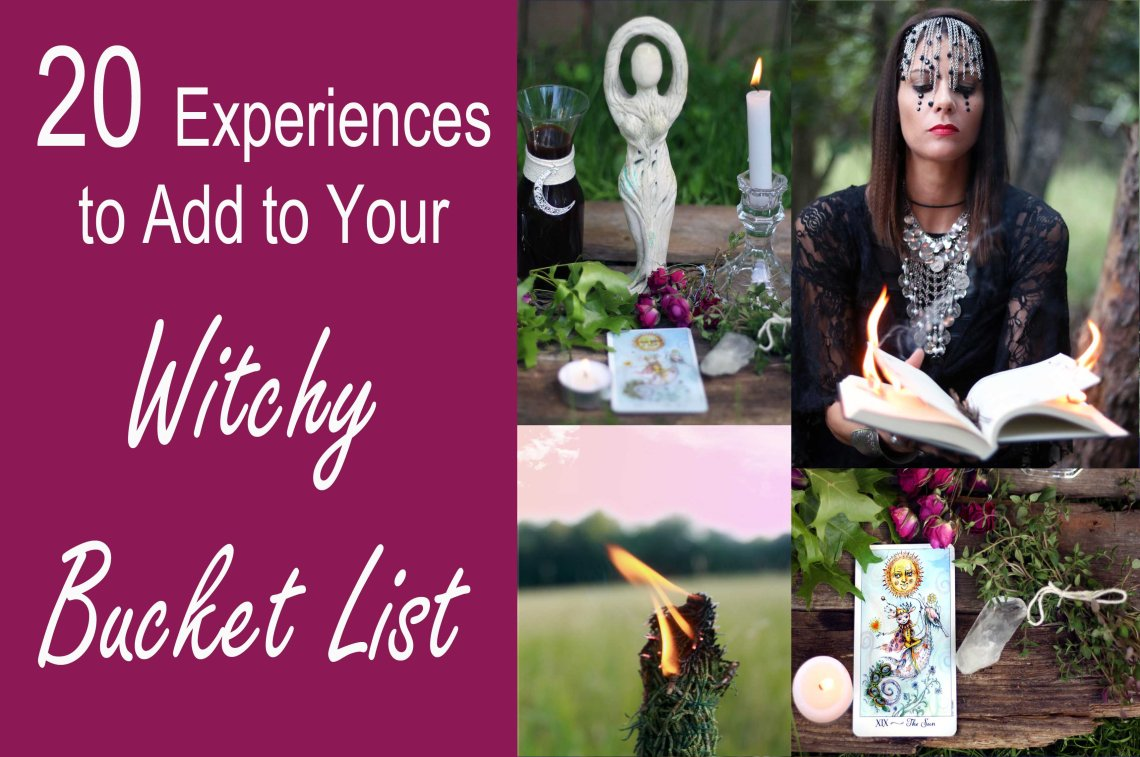 designing your witchy bucket lsit