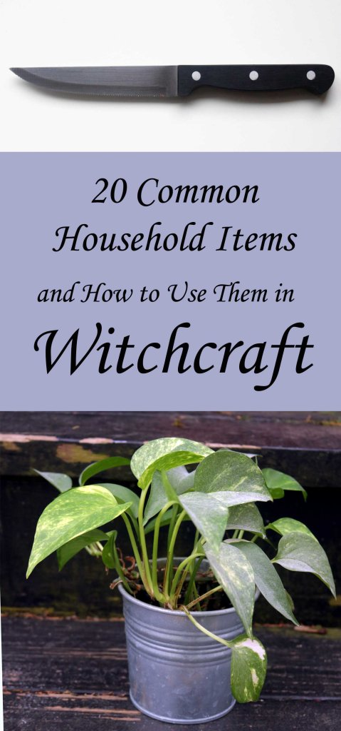 Common Household Items Used in Witchcraft