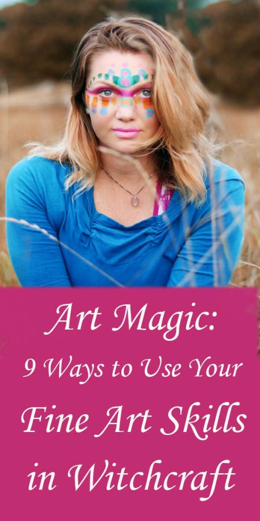 If you love all things witchy, and all things artsy, this is the article for you!  Check out these 9 ideas to get your creative juices flowing and integrate your love of fine art with the Craft.