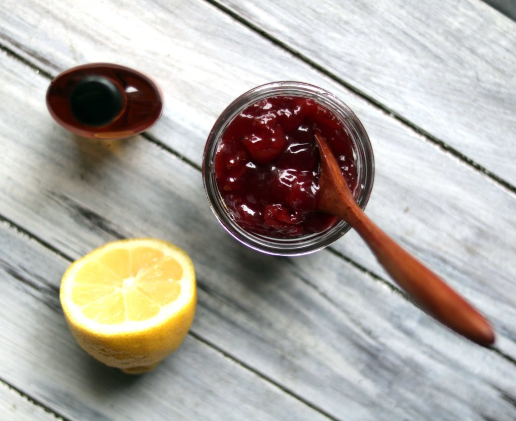 Cherry preserves, lemon and bourbon make up the key ingredients for this Beltane kitchen witch recipe.