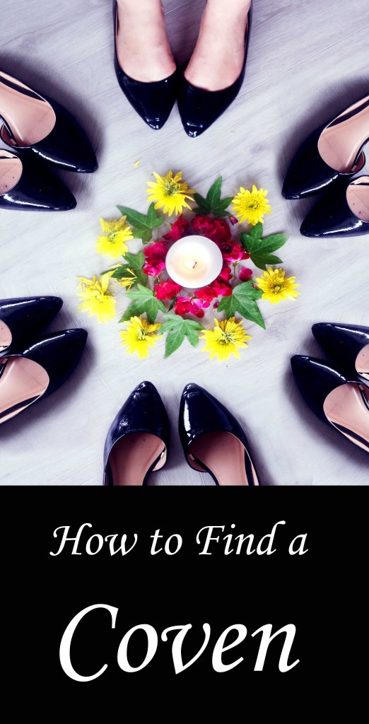 How to find a coven or magical spiritual community.