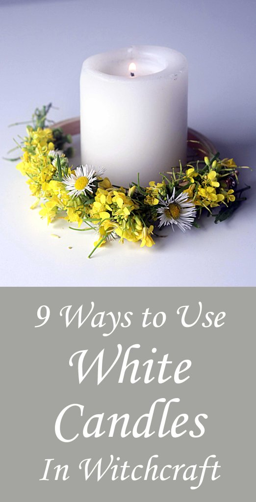 Got a white candle? You've got magick. Check out these 9 ideas for using a white candle in witchcraft, spells and ritual.
