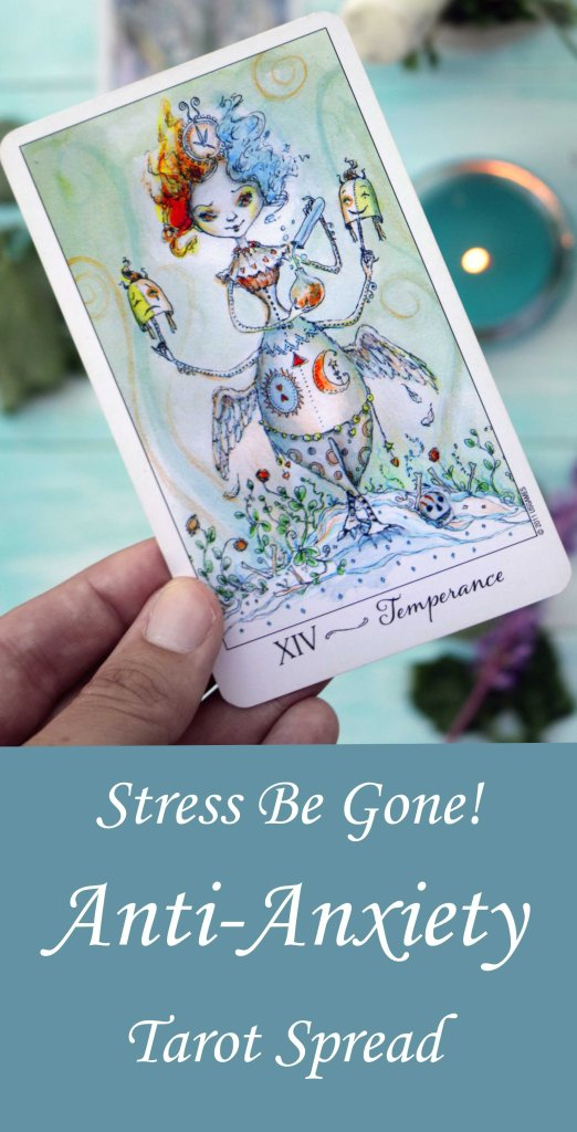 Let go of stress and anxiety with this clever relaxation tarot spread.