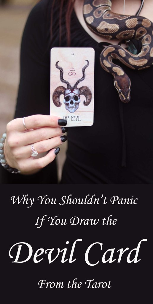 Many misconceptions surround the tarot's Devil Card. Learn why this card is nothing to fear.