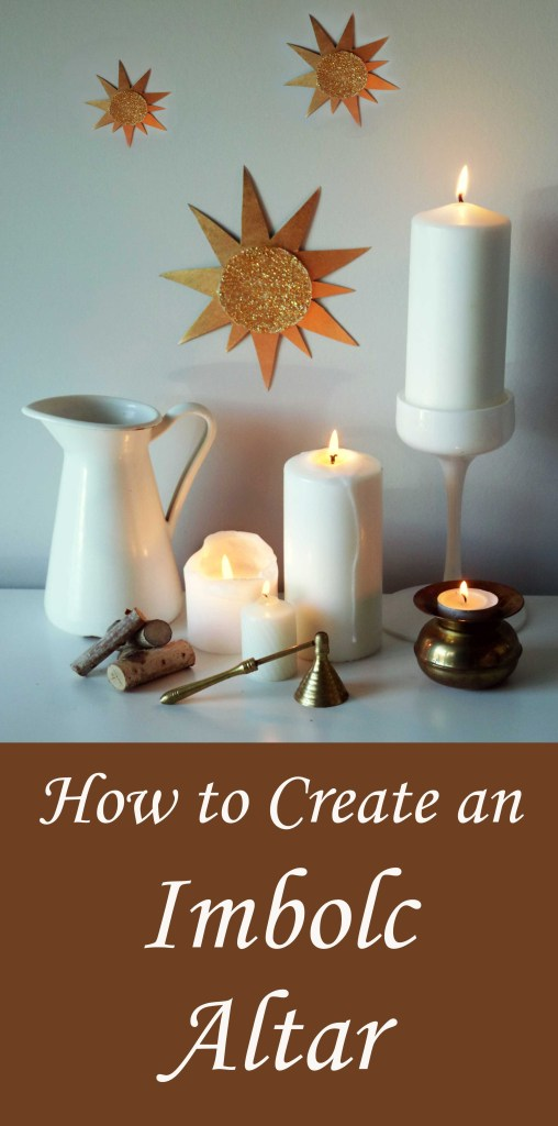 Create a beautiful Imbo0lc altar to celebrate the last winter holiday on the Wheel of the Year.