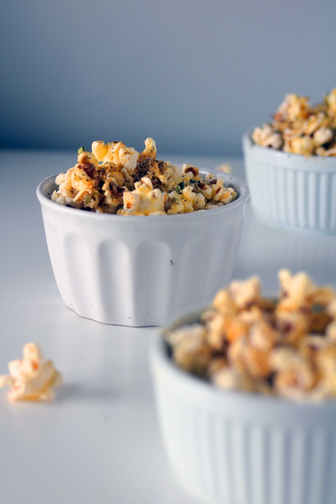 Herbal popcorn recipe for the kitchen witch at Lammas.