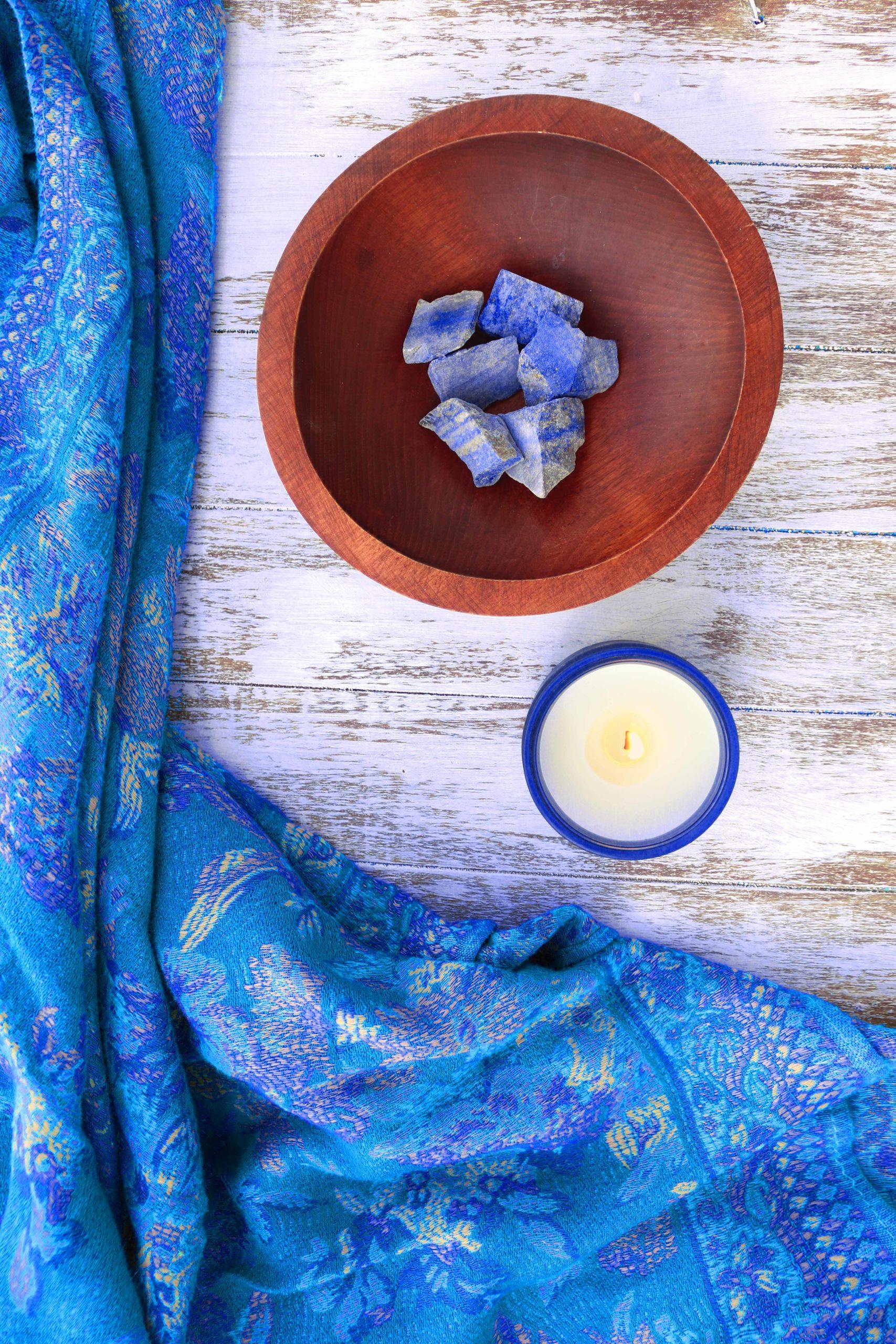 Got some lapis lazuli lying around? Here's 9 creative ways to use this beautiful blue stone.