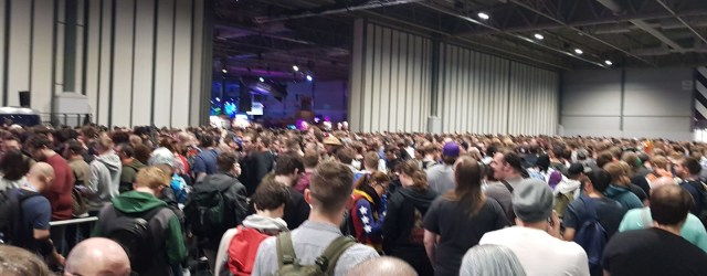 EGX day 2 queue