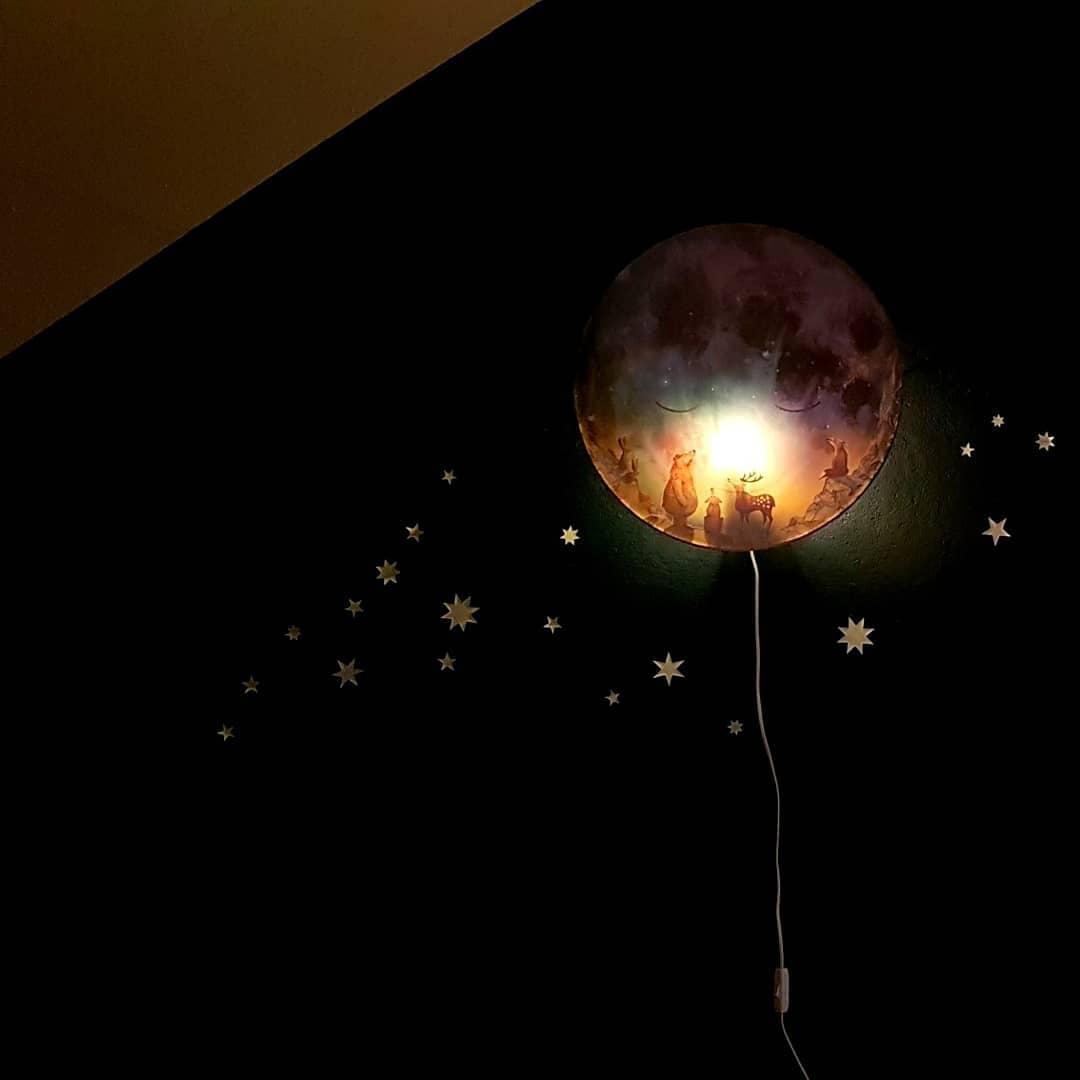 Ga slapen maan van Hartendief lamp