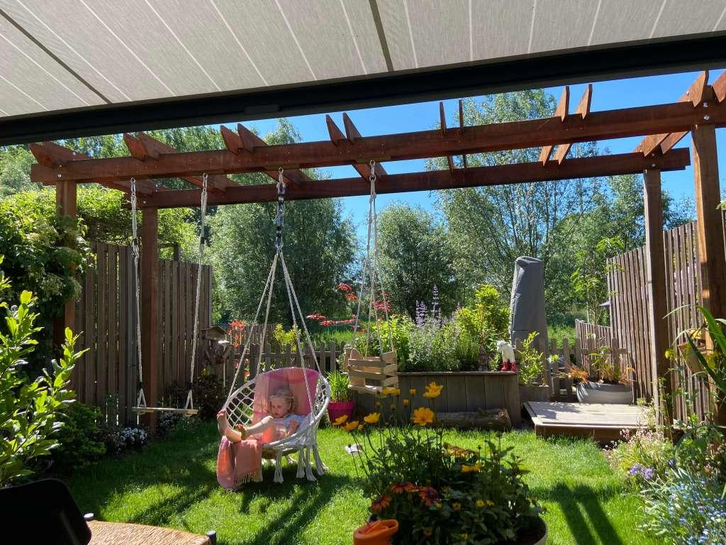 schommel kleine tuin