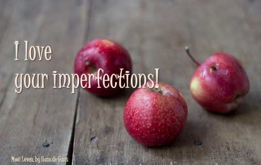 Imperfections are perfect