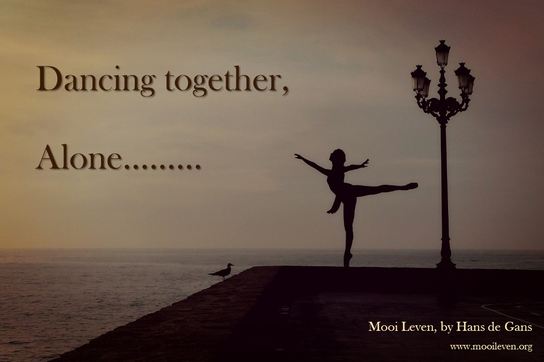 Dancing together, alone...