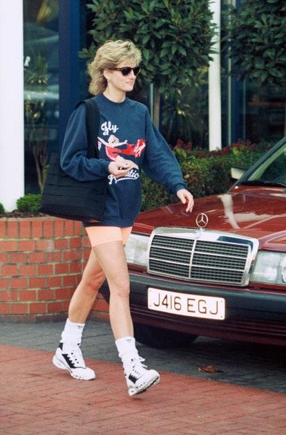 Lady Di en clave 'athleisure'