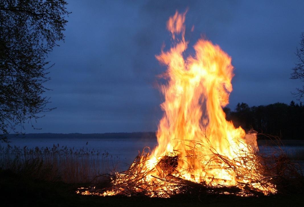 Cocina al fuego