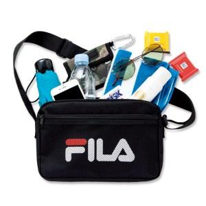 ムック本付録 FILAのショルダーバッグ