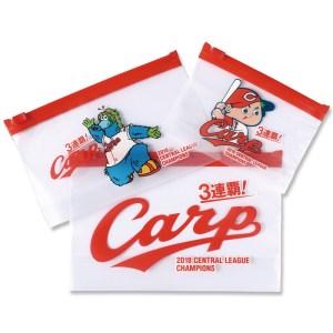 カープ 3連覇記念 マルチジップバッグBOOK