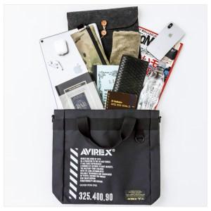 2018年11月発売AVIREXムック本付録のトートバッグ