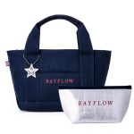 BAYFLOW LOGO TOTE BAG BOOK近畿レッド