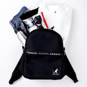 2019年7月発売KANGOL BACKPACK BOOK付録のバックパック