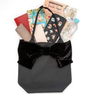 2019年8月発売ムック本franche lippee ribbon tote bag book付録のリボントートバッグ
