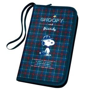 2019年10月発売ローソン限定SNOOPY やりくり上手のマルチポーチ BOOKの付録