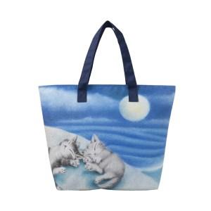 2019年11月発売猫のダヤンムック本付録のトートバッグ