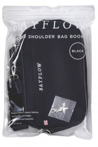限定販売ムック本BAYFLOW LOGO SHOULDER BAG BOOK BLACK