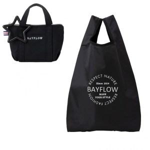 2021年1月発売コンビニ限定ムック本BAYFLOW ECO BAG SET BOOK BLACKの付録
