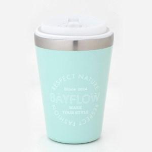 2021年発売ベイフローのカップコーヒータンブラー水色