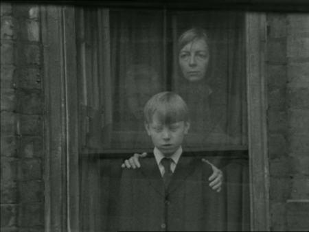 A still from Davies' debut short film, The Children.