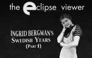 Criterion Collection Ingrid Bergman's Swedish Years